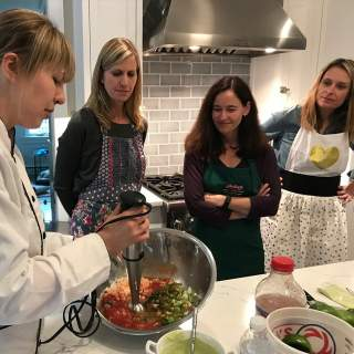 At Home Cooking Class